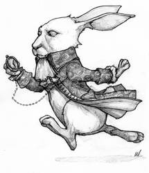 Costume Sketch - White Rabbit