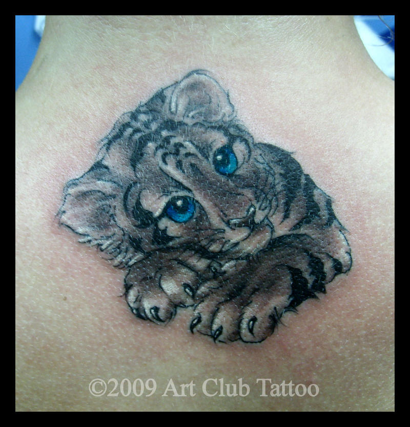 Sabre Tooth Tiger Skull Tattoo Pictures