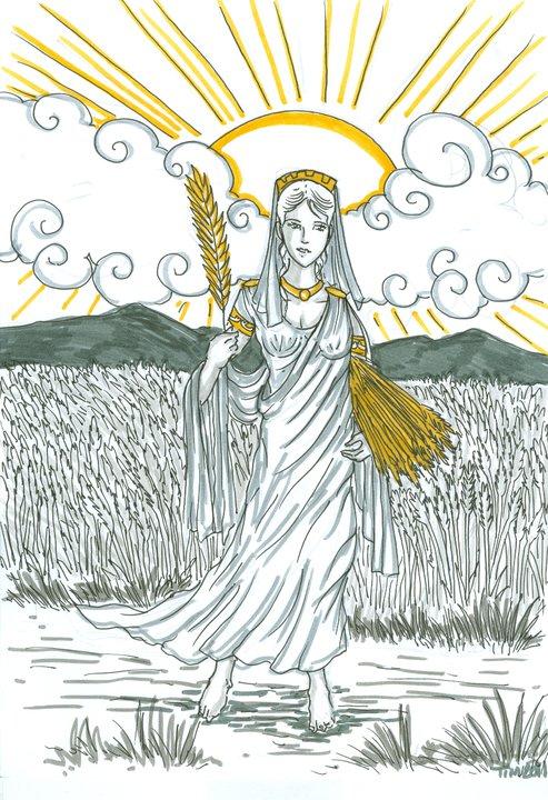 Demeter Greek Mytholog...