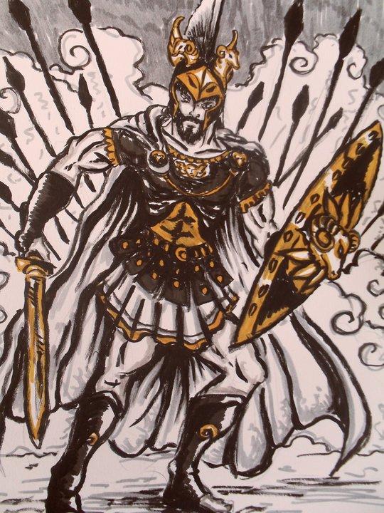 Ares:greek mythology by t-rex79 on DeviantArt