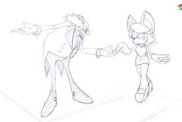 A little dance? by MetalK9