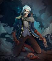 Critical Role - Percy De Rolo III by allisonhowle
