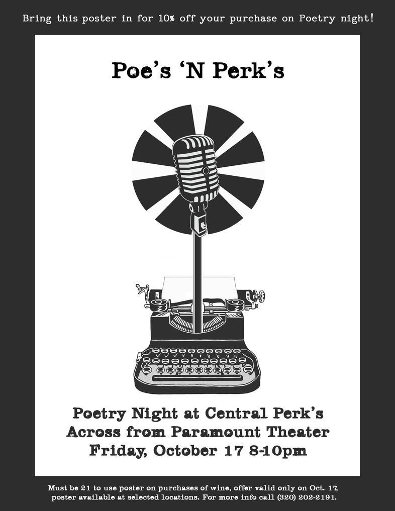 Poe's 'N Perk's: October Edition by Schneerf