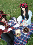 The Tea Party by Unruhestifter