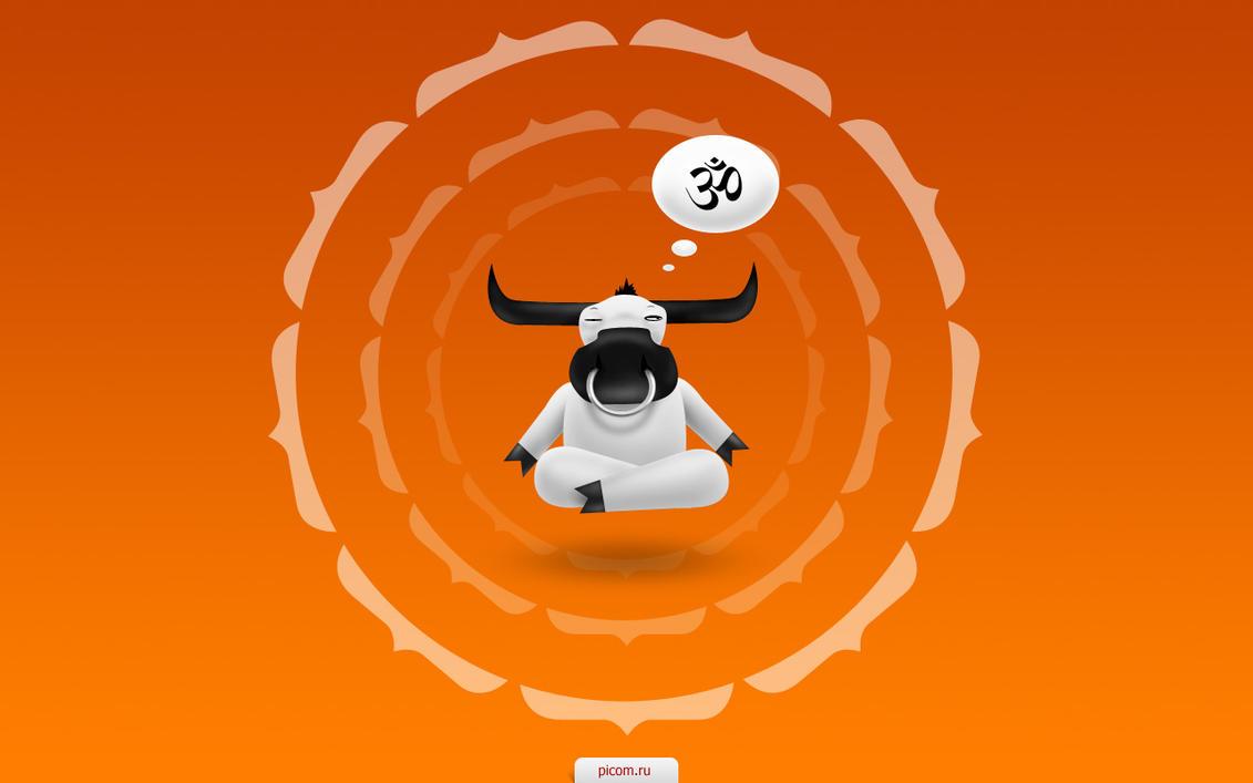 Sacred ox by ShantiShantiShanti