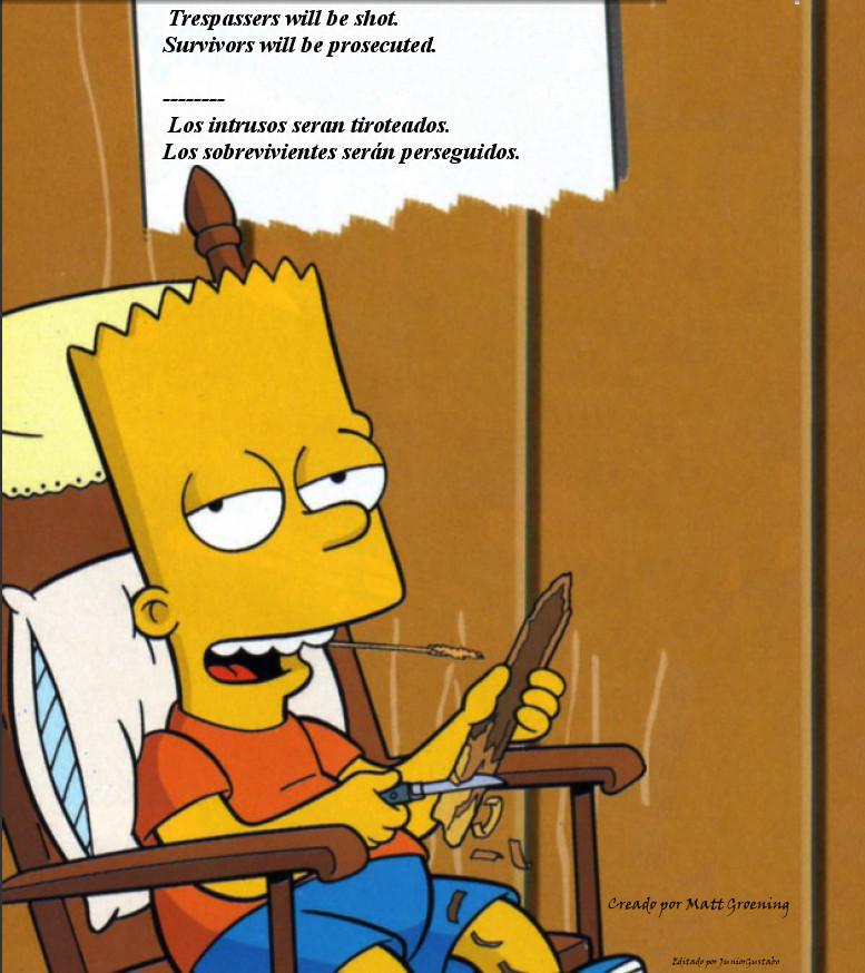Bart campirano by JuniorGustabo