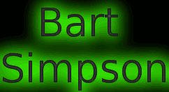 Animated gif - Bart Simpson by JuniorGustabo