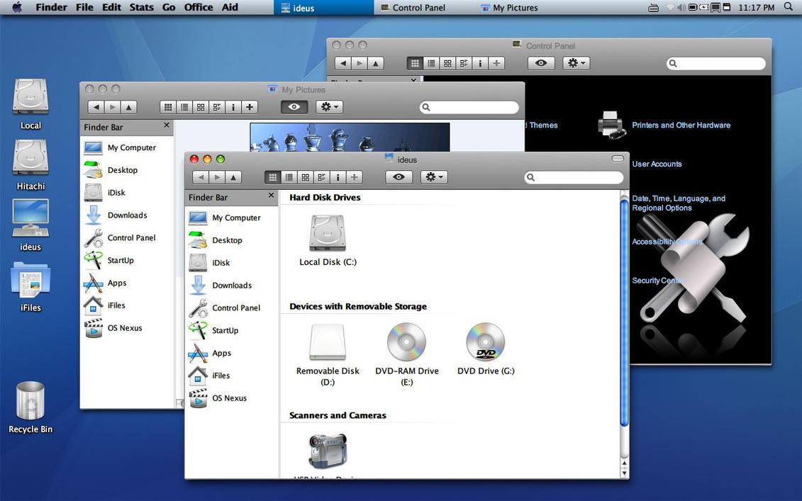 WindOSX XP SP2 Oxygen Version. by n3xu