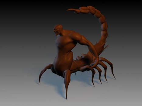 WIP - Carlos Huante Creature