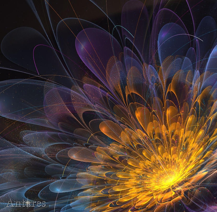 C-91 flower (full render) by Antares2
