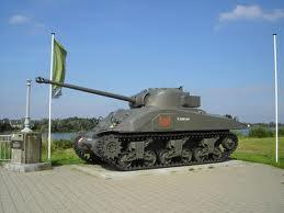 Tank replica in Little Willebroek by Antares2