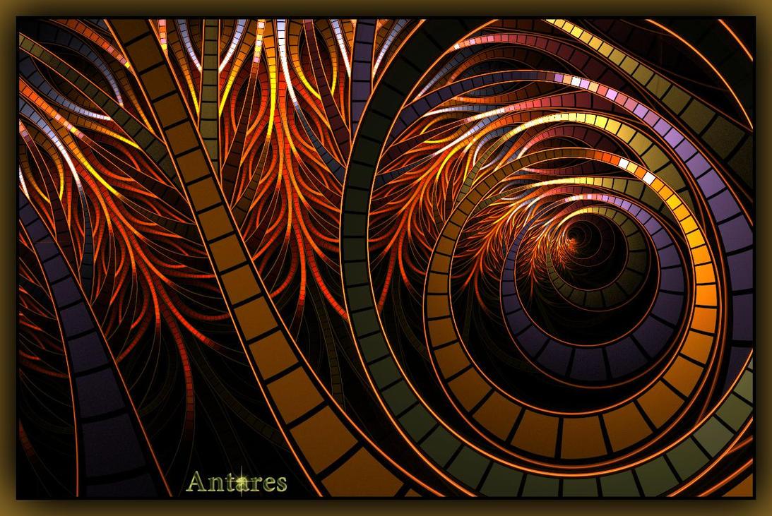 Circular Flame by Antares2