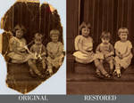 Digital Photo Restoration #2 - Timelapse (PS)