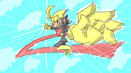 Lightning Bolt Sketch