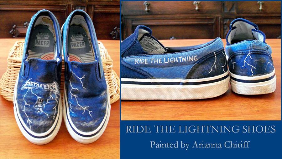 converse metallica ride the lightning