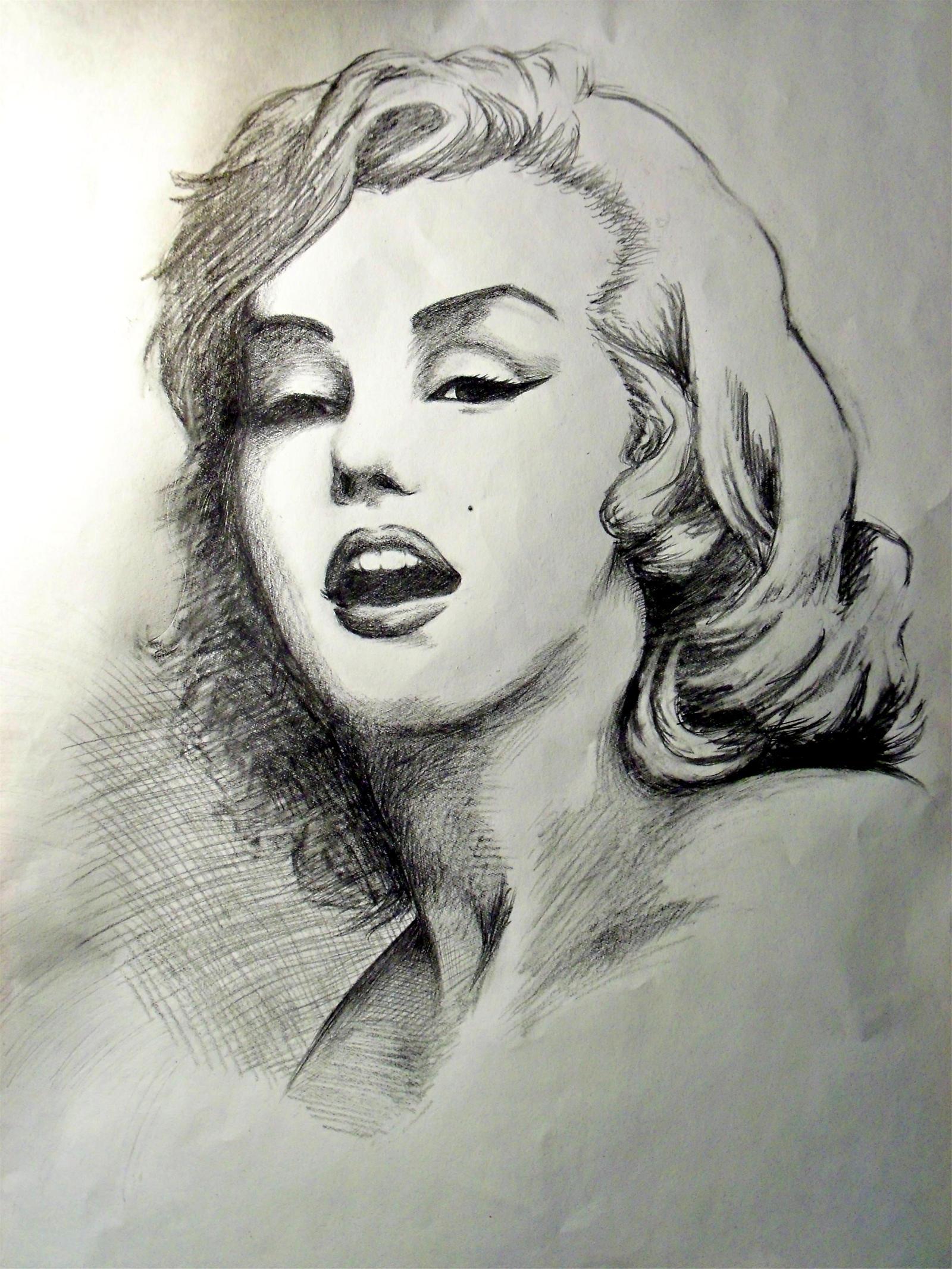 Citaten Marilyn Monroe Ga : Marilyn monroe by ramenmanga ka on deviantart