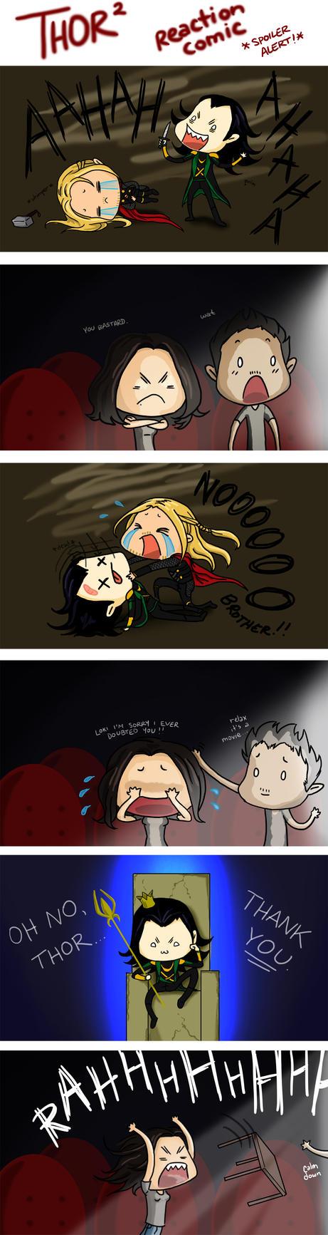 Thor 2 Reaction Comic **SPOILER ALERT!** by RAMENmanga-ka
