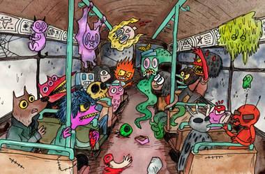 Scum bus by skrane