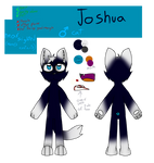 Joshua ref sheet! by Bright-lightz