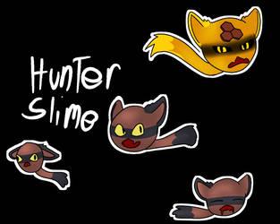 Hunter slime doodles! + Speedpaint! by Bright-lightz
