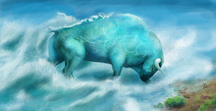 Water Colossus by Feierka