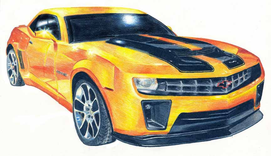 Bumblebee-car by Aeylan on DeviantArt