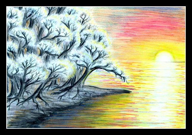 frosty dawn by Aeylan