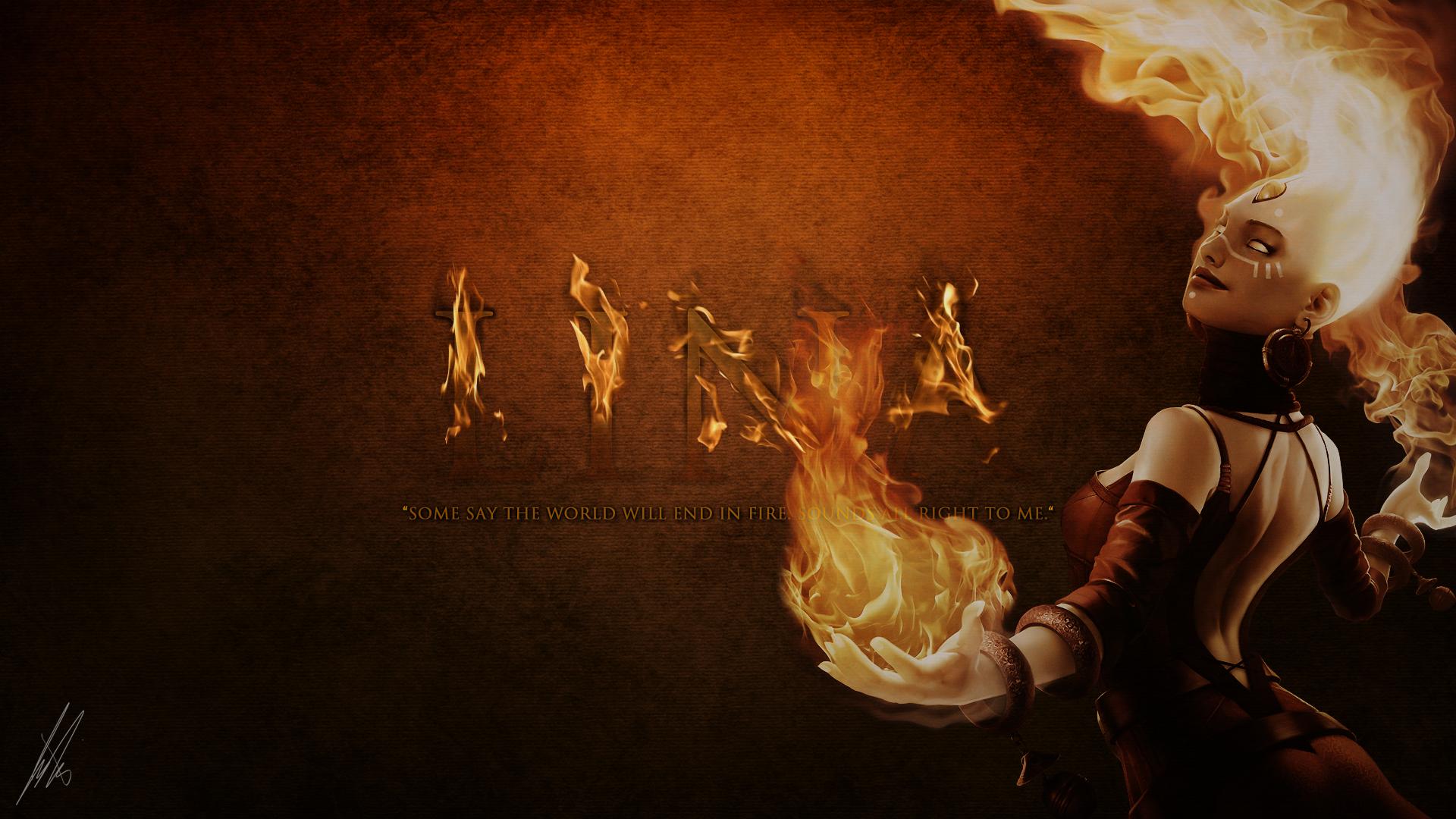 DotA 2 Lina Inverse Slayer By SexyFiren