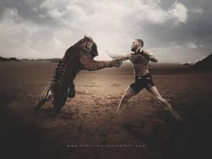 Conor McGregor Fighting - Human Vs Tiger