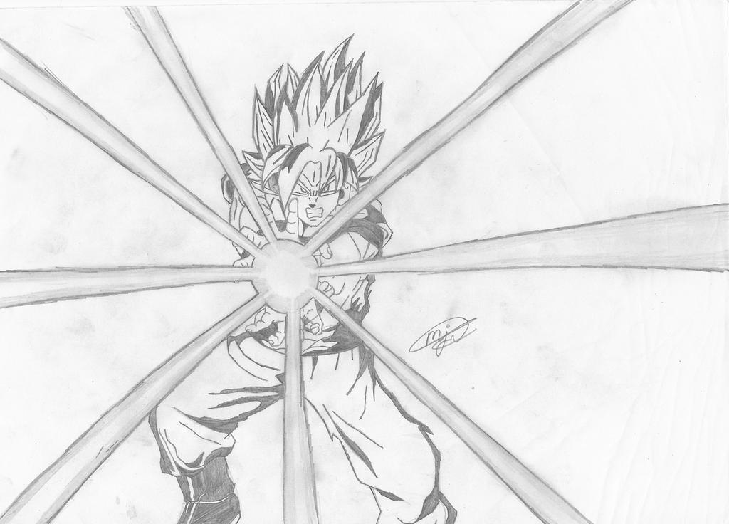 Dragon Ball Z  GOKU SUPER SAIYAN by mikhell1 on DeviantArt