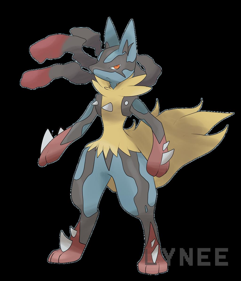 Mega lucario by lyneee on deviantart - Pokemon tortank mega evolution ...