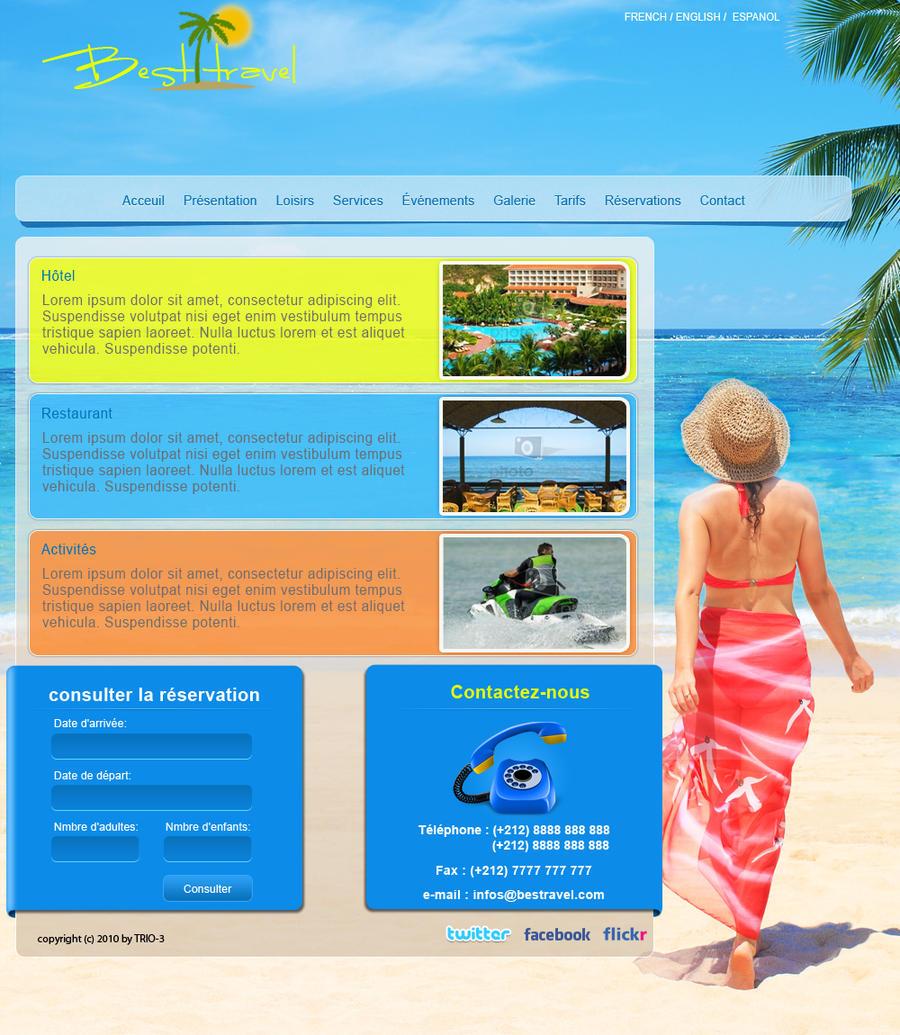 Best travel website by trio 3 on deviantart for Best online drawing websites