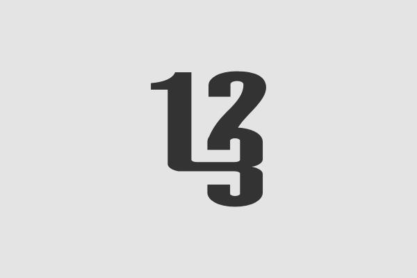123 logo design