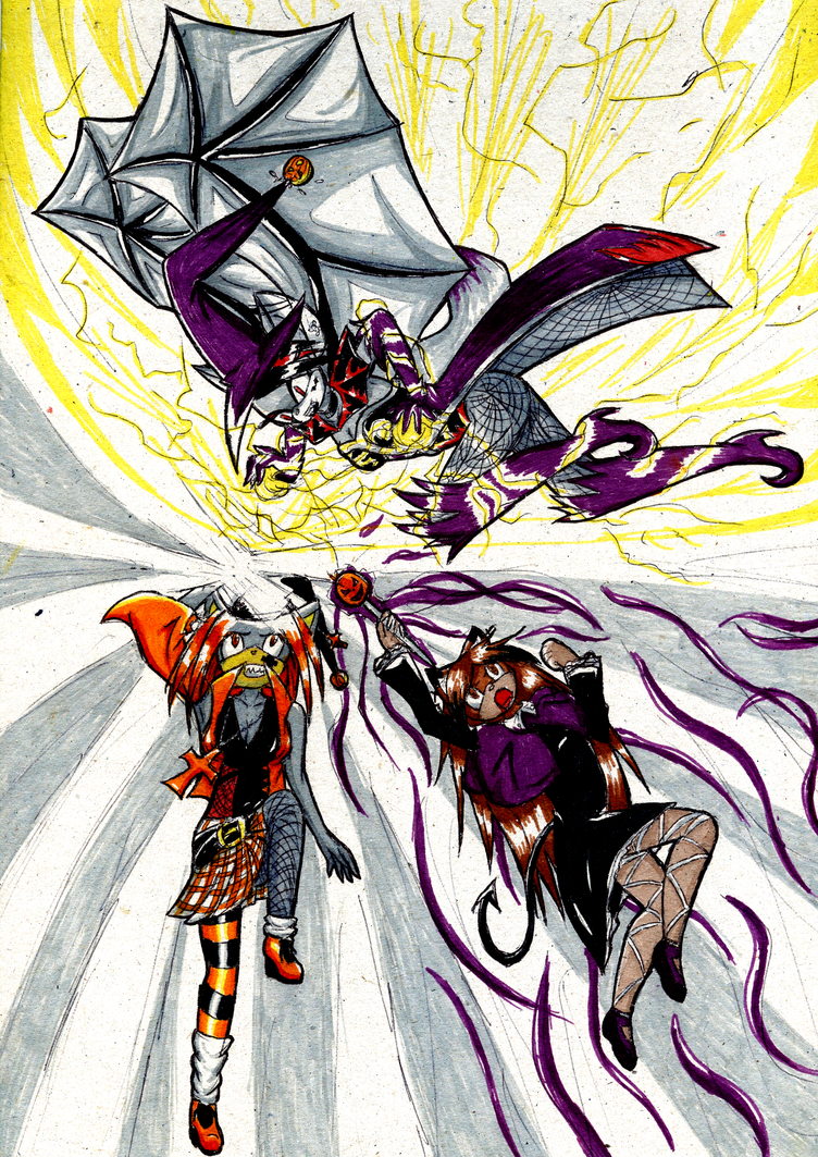 Machin's Galery  - Page 4 Awesome_fight_by_larrya_oryelis-d4dugr7