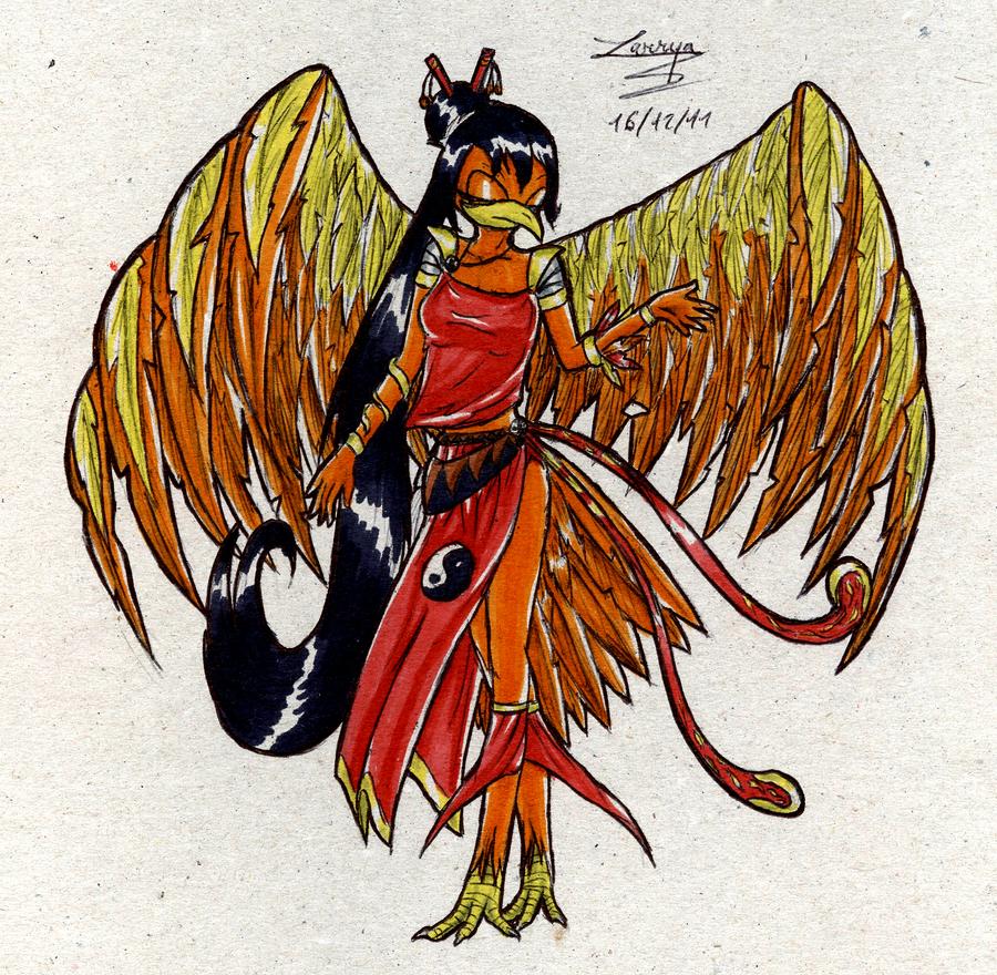Machin's Galery  - Page 4 Phoenix_by_larrya_oryelis-d4ja9x8