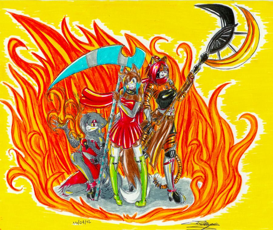 Machin's Galery  - Page 6 Team_flamesurge_by_larrya_oryelis-d4wdqnw