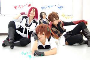 hakuouki:Four people3 by fullmetalflower