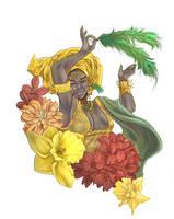 Goddess of Love, Oshun by Chantelligence