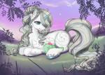 Lilac Dusk by SilverMoonbreeze