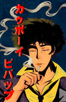Spike Spiegel by Lady-Sweetart