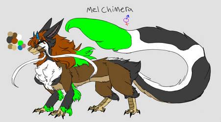 Mel Chimera by MelodyWhitewolf