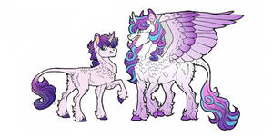 Flurry Heart and Vir- height comparison