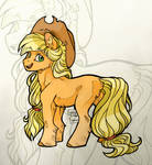 Applejack - Young and carefree