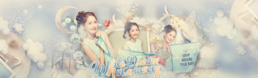 [Share PSD] Yoona's White Dream by shinbyun2k2