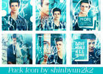 [Artwork] 3.2015 - Pack Icon Grant Gustin in Blue