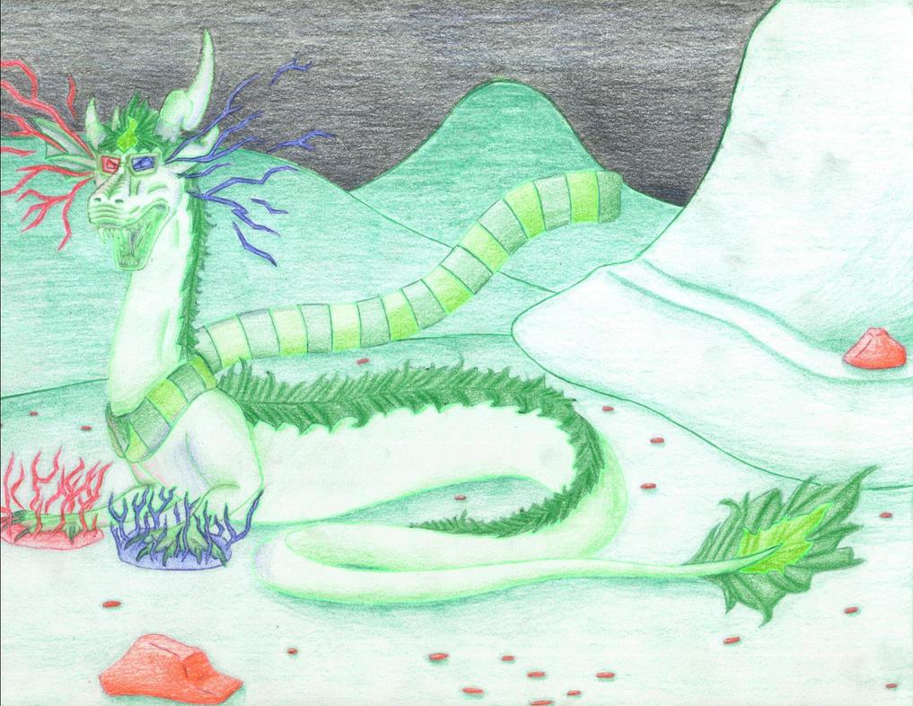 Erisolsprite dragon by seaserphant15