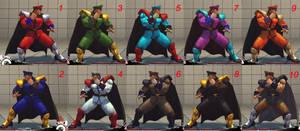 Shin Vega (Bison) 10 colors fixed