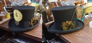 Steam hat 1