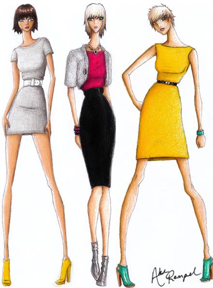 fashion sketches on pinterest fashion illustrations