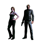 Resident Evil 6 - Helena and Leon